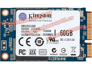 Диск SSD KINGSTON SMS200S3/60G