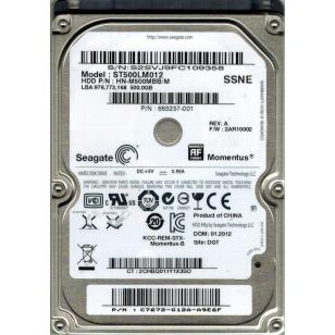 HDD жесткий диск Seagate ST500LM012