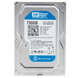 HDD жесткий диск Western Digital WD7500AZEX