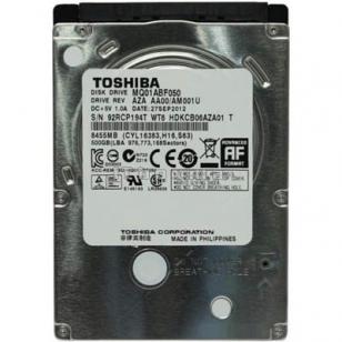 HDD жесткий диск Toshiba MQ01ABF050