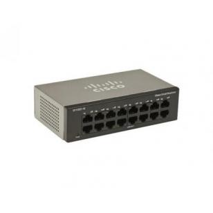 Коммутатор Cisco SB SF100D-16P-EU